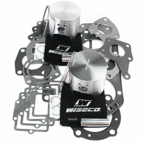 【USA在庫あり】 ワイセコ Wiseco 2スト ピストン フルセット 92年-95年 カワサキ JH750 760cc 81.00mm +1.0mm WK1061 JP