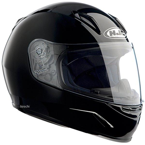【メーカー在庫あり】 エイチジェイシー HJC フルフェイスヘルメット CL-Y 子供用 ソリッド 黒 Lサイズ(53-54cm) HJH0579900L JP店