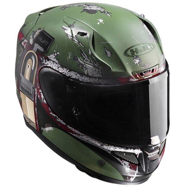 【メーカー在庫あり】 エイチジェイシー HJC フルフェイスヘルメット STARWARS RPHA 11 ボバ フェット BOBA FETT Lサイズ(59-60cm) HJH119GR01L JP店