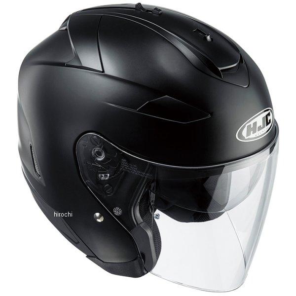 エイチジェイシー HJC ジェットヘルメット IS-33ソリッド セミフラットブラック Sサイズ(55-56cm) HJH120BK01S JP店