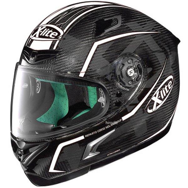 【メーカー在庫あり】 デイトナ ノーラン フルフェイスヘルメット X-LITE X-802RR ウルトラカーボン マーケトリー 白 Lサイズ 95585 JP店