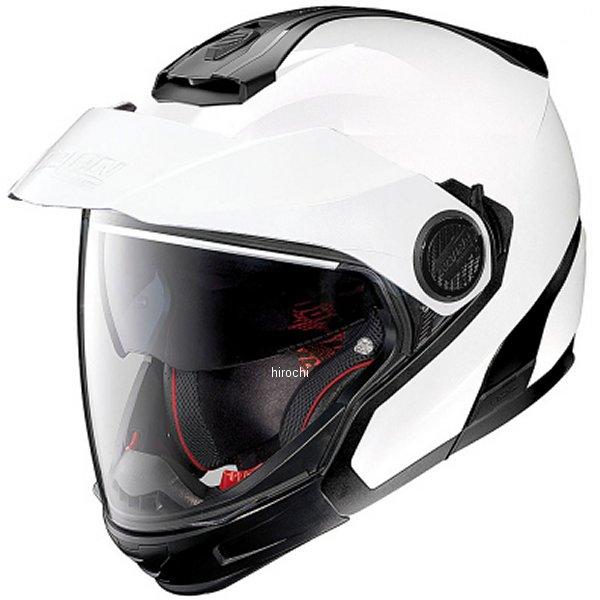 【メーカー在庫あり】 N405GT ノーラン NOLAN フルフェイスヘルメット メタル白 Lサイズ 95884 JP店
