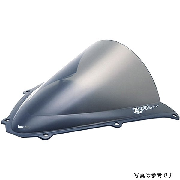 【メーカー在庫あり】 ゼログラビティ ZERO GRAVITY スクリーン ダブルバブル 06年-07年 GSX-R750、GSX-R600 クリア 1611001 JP店