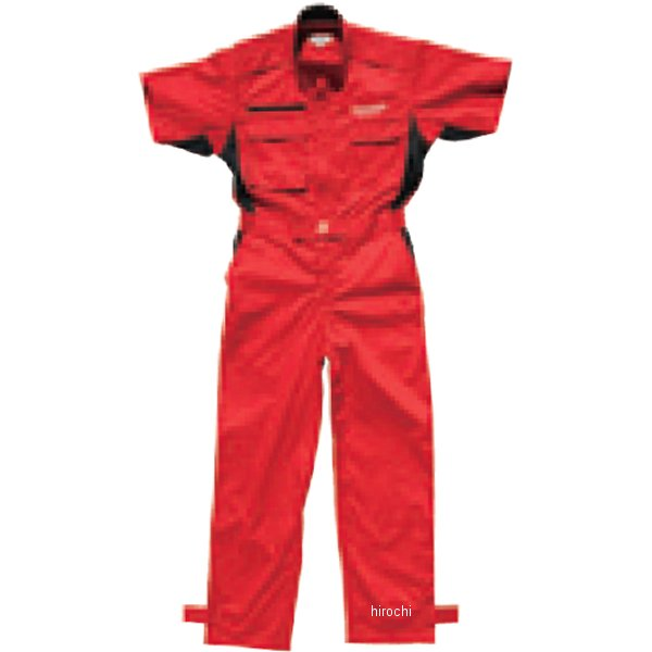 51609532 M17M33 ブリヂストン BRIDGESTONE 2017年モデル サマーピットクルースーツ 赤 Mサイズ 5160 9532 JP店