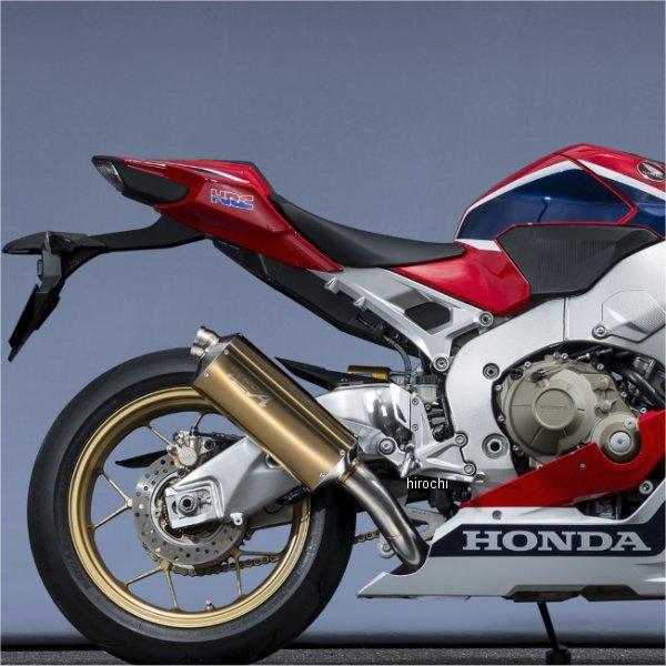 ヤマモトレーシング スリップオンマフラー 17年 CBR1000RR TYPE-S レース用 ゴールド/チタン 11012-01NSG JP