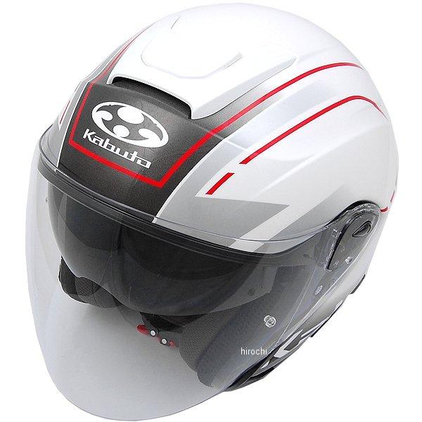 【メーカー在庫あり】 オージーケーカブト OGK KABUTO ジェットヘルメット ASAGI BEAM パールホワイト Lサイズ 4966094569495 JP店