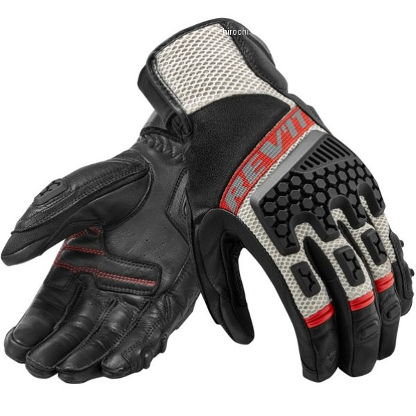 レブイット REVIT サマーグローブ サンド3 黒/赤 Lサイズ FGS121-1200-L JP店