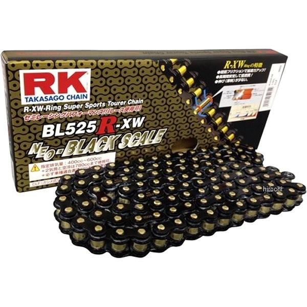 【メーカー在庫あり】 RKジャパン BL525R-XW-100BLブラックスケールシリーズチェーン (100L) BL525RXW100 JP店