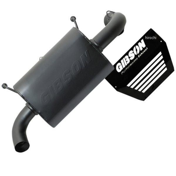 【USA在庫あり】 ギブソン Gibson スリップオンマフラー 16年 Ranger 1000 RZR 黒 1831-0664 JP店