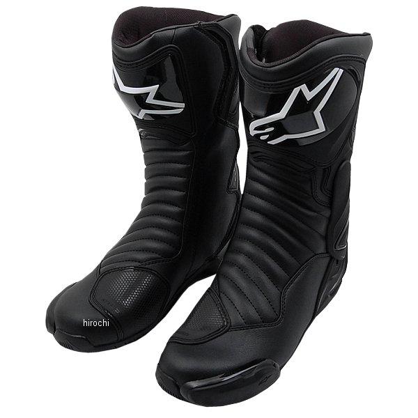 【メーカー在庫あり】 アルパインスターズ Alpinestars 春夏モデル ロードレーシングブーツ SMX-6 黒/黒 45サイズ (29.5cm) 8021506617730 JP店