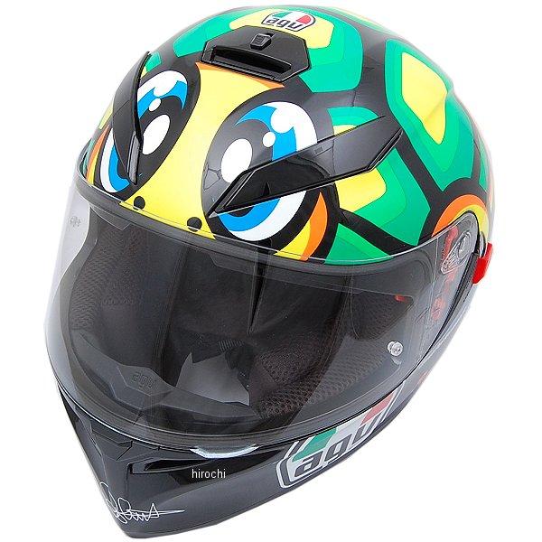 K-3 SV TOP BOLLO 46 エージーブイ 黄 AGV 030190E0-005-S JP (55-56cm) フルフェイスヘルメット 黒/ Sサイズ 【メーカー在庫あり】