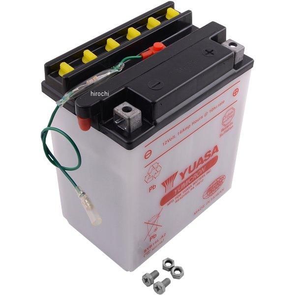 【USA在庫あり】 ユアサ YUASA YuMiCRON バッテリー 開放型 12V SYB14L-A2 JP店