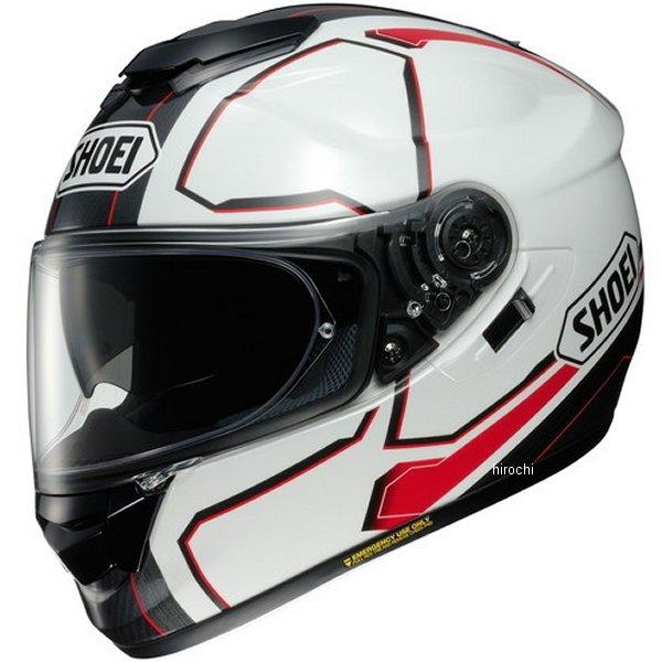 【メーカー在庫あり】 ショウエイ SHOEI フルフェイスヘルメット GT-Air PENDULUM ペンデュラム TC-6 白/赤 L Lサイズ(59cm) 4512048462994 JP店