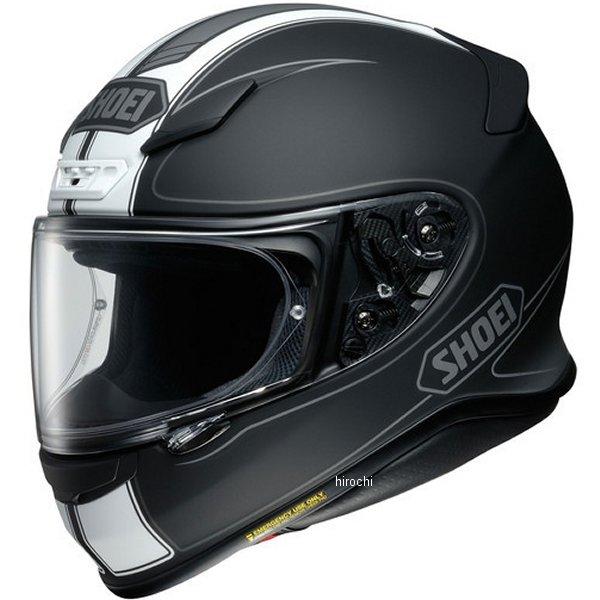 【メーカー在庫あり】 ショウエイ SHOEI フルフェイスヘルメット Z-7 FLAGGER フラッガー TC-5 白/黒 L Lサイズ(59cm) 4512048464462 JP店
