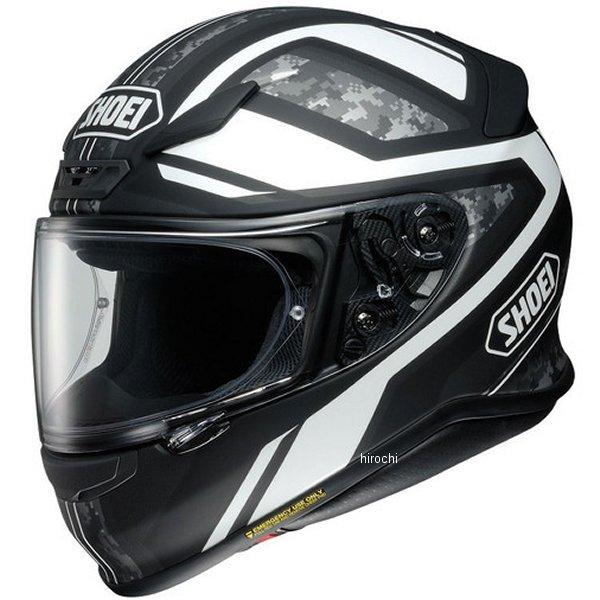 ショウエイ SHOEI フルフェイスヘルメット Z-7 PARAMETER パラメーター TC-5 白/黒 XXLサイズ(63cm) 4512048464721 JP店