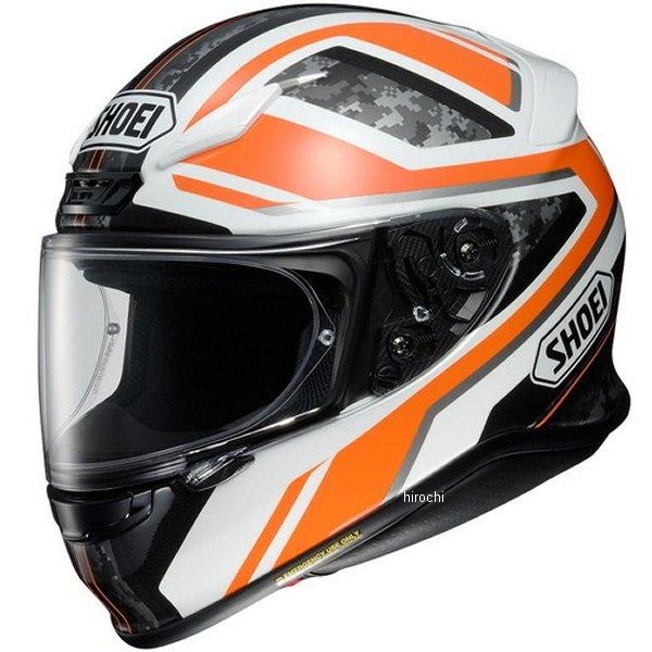 ショウエイ SHOEI フルフェイスヘルメット Z-7 PARAMETER パラメーター TC-8 オレンジ/白 XLサイズ(61cm) 4512048464776 JP店