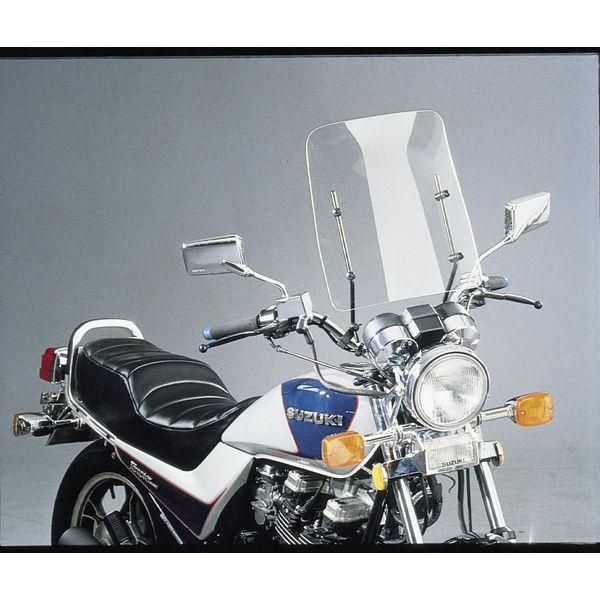 【USA在庫あり】 スリップ ストリーマー Slip Streamer CF30 ウインドシールド 17インチ 7/8インチ、1インチバー用 クリア 559030 JP
