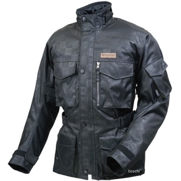 ラフ&ロード 秋冬モデル SSFトレイルツーリングジャケット ブラックエンボスRC LLサイズ RR4005K-ERC4 JP店