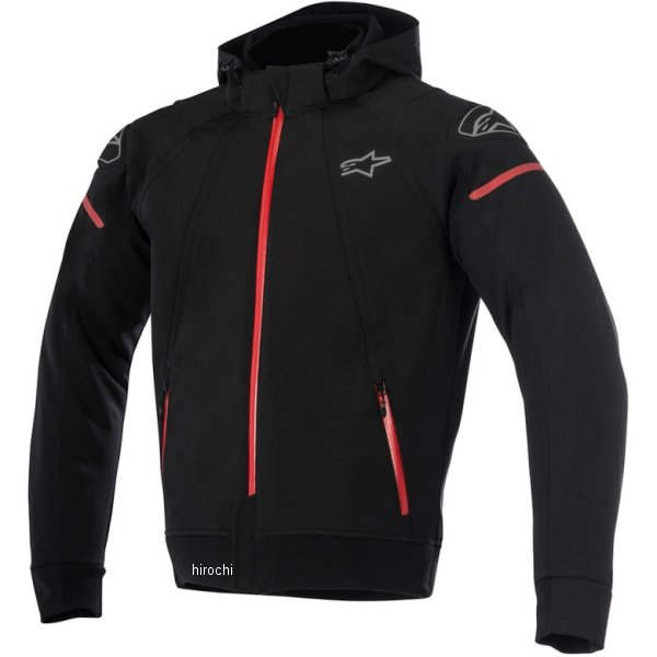 Alpinestars アルパインスターズ フーディー ジャケット テック 2018-2019秋冬モデル (ブラック/チャコール) セクター 2XL