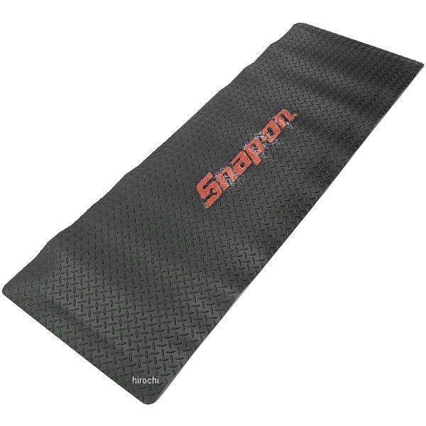 スナップオン Snap-on クッションタイプ フロアマット 24インチ x 72インチ ブラック と レッドロゴ JKAFM2472BK JP店