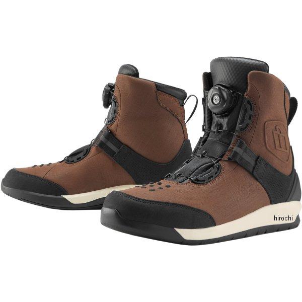 アイコン ICON 秋冬モデル ブーツ PATROL2 ブラウン 13サイズ 31cm 3403-0907 JP店