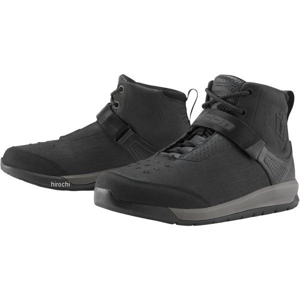 【USA在庫あり】 アイコン ICON 秋冬モデル ブーツ SUPERDUTY5 黒 12サイズ 30cm 3403-0918 JP店