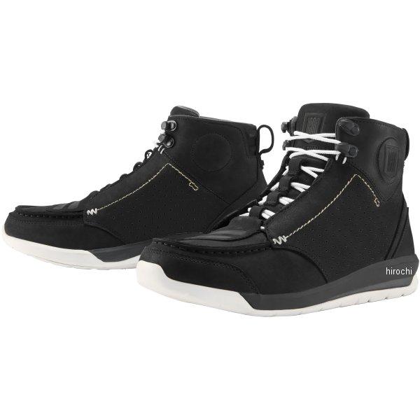 【USA在庫あり】 アイコン ICON 秋冬モデル ブーツ Truant2 黒 13サイズ 31cm 3403-0931 JP店