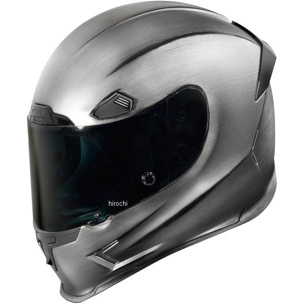 【USA在庫あり】 アイコン ICON フルフェイスヘルメット Airframe Pro Quickシルバー Mサイズ 0101-10172 JP店