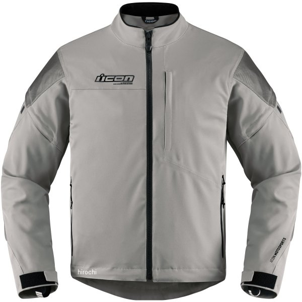 【USA在庫あり】 アイコン ICON 秋冬モデル ジャケット TARMAC グレー XLサイズ 2820-4034 JP店