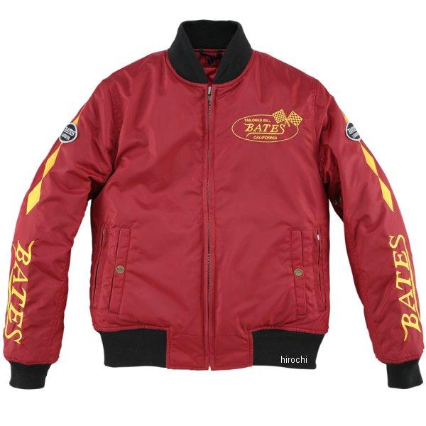 ベイツ BATES 秋冬モデル 防風ナイロンジャケット レディース 赤 Lサイズ BJL-N1772S JP店
