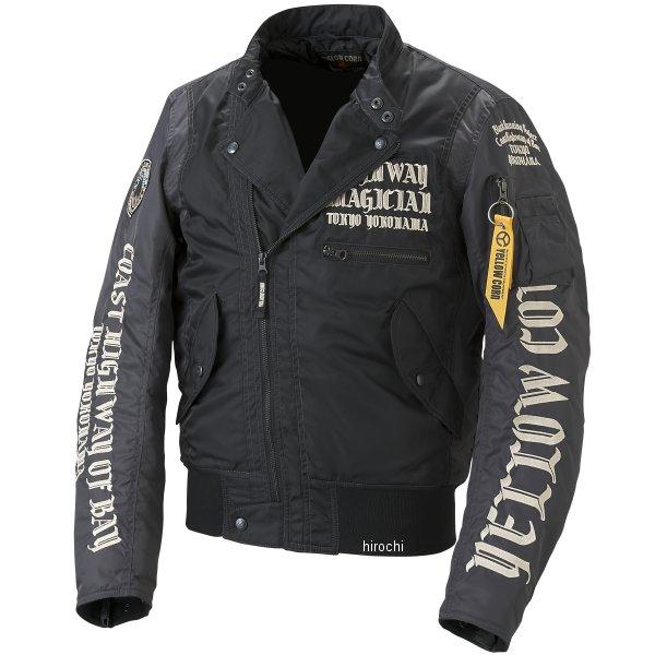 イエローコーン YeLLOW CORN 秋冬モデル ウインタージャケット 黒 Lサイズ YB-7301 JP店