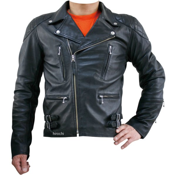 モトフィールド MOTO FIELD 秋冬モデル ダブルレザージャケット 黒 Lサイズ MF-LJ121 JP店
