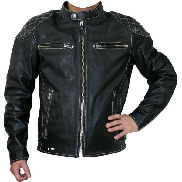 モトフィールド MOTO FIELD 秋冬モデル シングルレザージャケット 黒 Mサイズ MF-LJ124 JP店