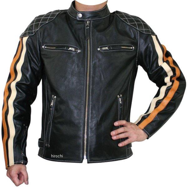 モトフィールド MOTO FIELD 秋冬モデル シングルレザージャケット ライン入り 黒 Lサイズ MF-LJ125 JP店