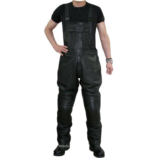 モトフィールド MOTO FIELD 2017年秋冬モデル レザーサロペットパンツ 黒 6Lサイズ MF-LP48NK JP店