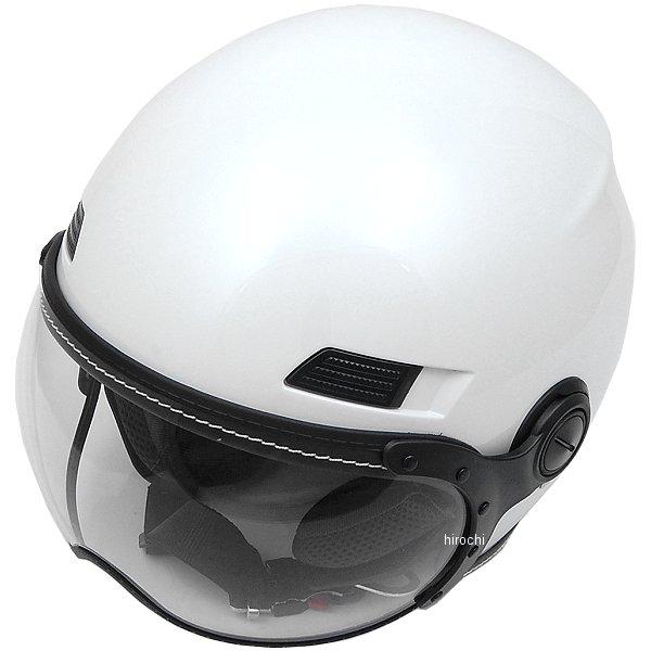 マルシン工業 Marushin ジェットヘルメット MS-340 パールホワイト Mサイズ (59-60cm) MS340WH/M JP店