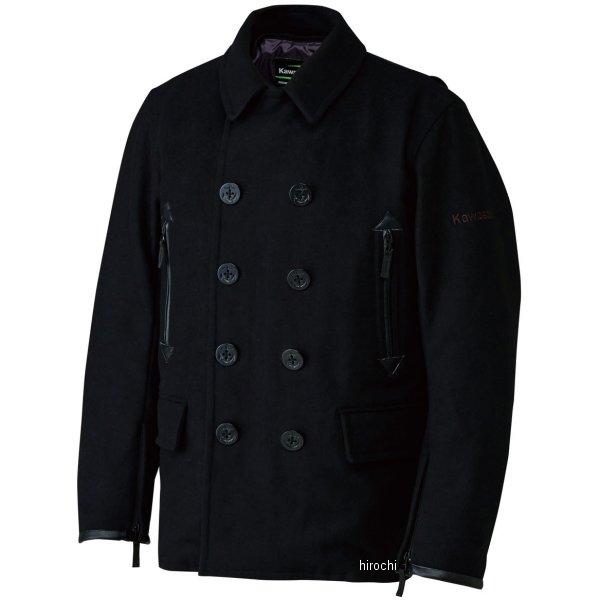 J80012741 カワサキ純正 秋冬モデル カワサキライディングピーコート 黒 Lサイズ J8001-2741 JP店