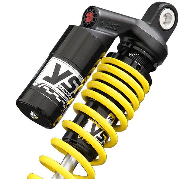 ピーエムシー PMC YSS ツイン リアショック スポーツライン G366 SR500、SR400 330mm 黒/黄 116-6015112 JP店