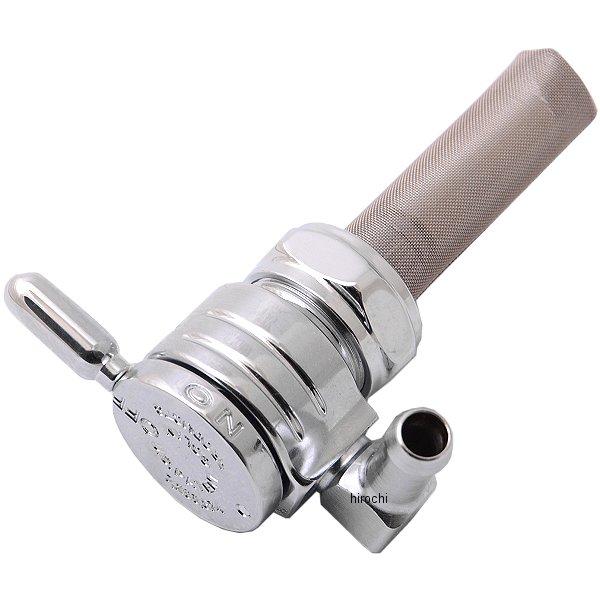【メーカー在庫あり】 ゴランプロダクツ Golan Products フューエル ペットコック 22mm 後方 クローム 0705-0019 JP
