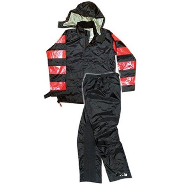 TFR-1401 トゥエンティ・フォー・セブン カスタムレザース 24/7 Custom Leathers レインスーツ 赤/黒 Lサイズ TFR-1401-RE-BK-L JP店