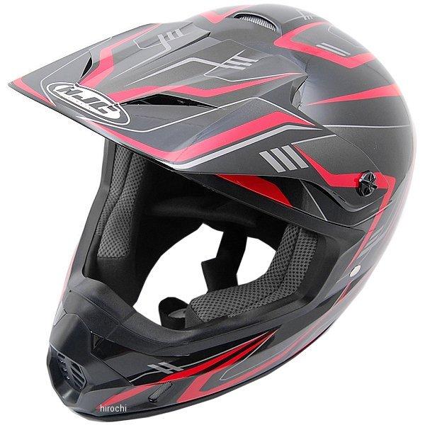 エイチジェイシー HJC オフロードヘルメット CS-MXエッジ 黒/赤 Mサイズ(57-58cm) HJH123BK01M JP店