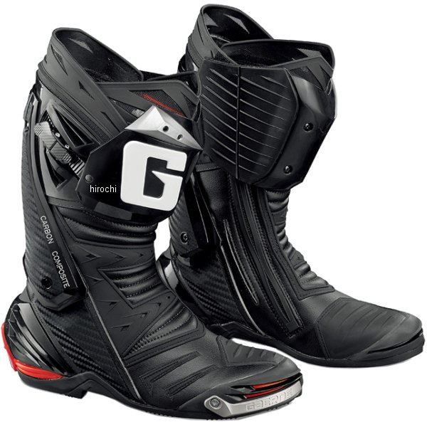 ガエルネ GAERNE レーシングブーツ ジーピー・ワン 黒 25.0cm 2400001250 JP店