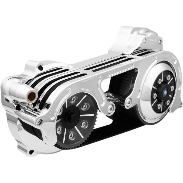 【メーカー在庫あり】 ベルト ドライブ Belt Drives 2インチ オープン ベルトドライブキット 17年以降 ツーリング クローム 1120-0400 JP店