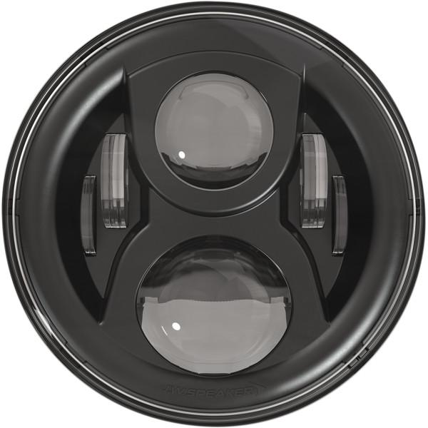 【USA在庫あり】 JWスピーカー J.W. Speaker LED ヘッドライト 7インチ EVO2 デュアルバーン 8700 リング無し 黒 2001-1546 JP店