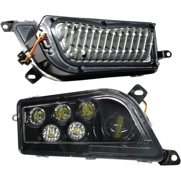 【USA在庫あり】 ブライトライツ Brite-Lites LEDヘッドライトキット 左右ペア 2001-1558 JP店