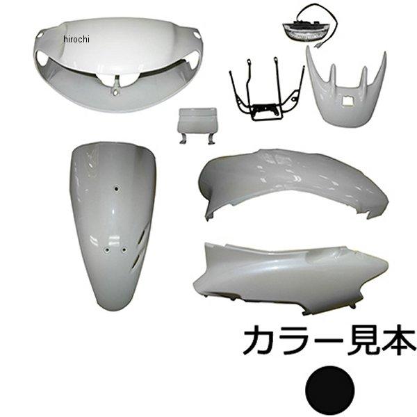 スーパーバリュー 外装6点セット ライブディオ AF34 3型 ピュアブラック NH-237P JP店