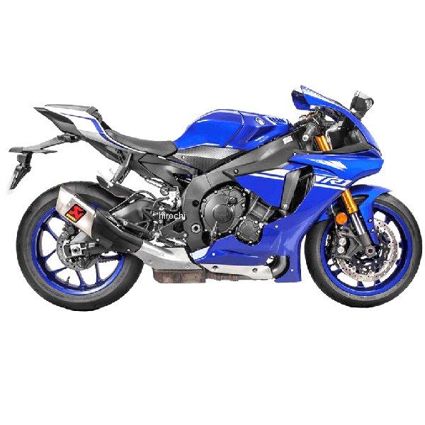 アクラポビッチ AKRAPOVIC スリップオンマフラー MotoGP E4仕様 15年-18 年YZF-R1、YZF-R1M チタン S-Y10SO16-HAPT/1 JP店