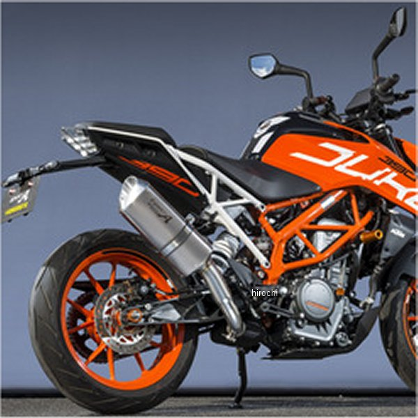 ヤマモトレーシング スリップオンマフラー 17年以降 KTM 390DUKE スペックA TYPE-SA UPタイプ チタン 50391-UPNSA JP