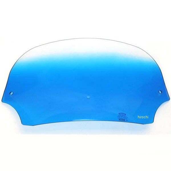 【USA在庫あり】 メンフィスシェード Memphis Shades バットウィング フェアリング用シールド 7インチ高 青 2310-0237 JP店