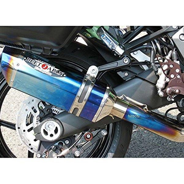 【メーカー在庫あり】 ビート BEET フルエキゾースト ナサートエボリューションTYPE2 T2 P 17年 Ninja1000 チタン/チタン 0223-KD6-50 JP店